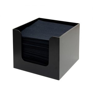 Napkin Holder 1-part black