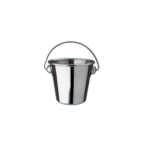 Bucket stainless steel 10x10 cm
