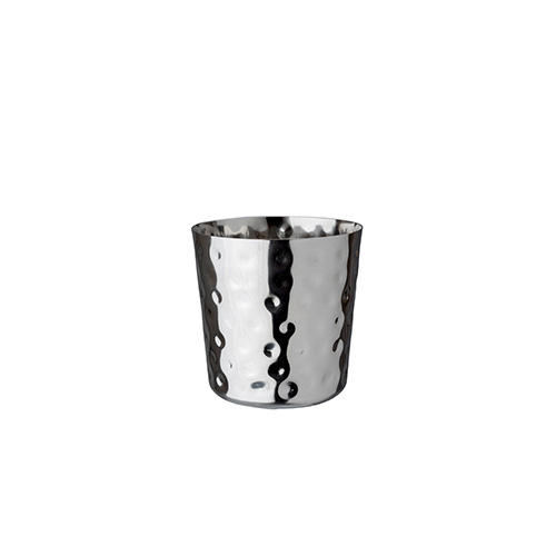 Appetizer cup hammered
