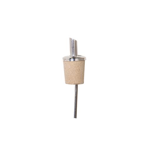 Pourer natural cork short • 6 pcs